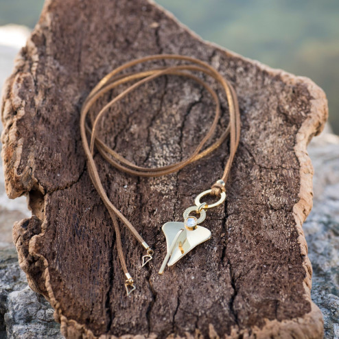 Gold-plated long Anchor...